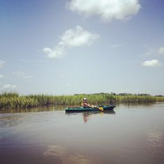 Kayaking around Tybee Island and Savannah, endless exploration!