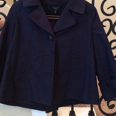Very cute cape style jacket This jacket is so cute, it has flare! Jackets & Coats