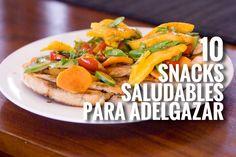 snacks saludables para bajar de peso