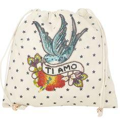 Pochette en coton pour contenir tous vos secrets et accessoires à glisser dans votre sac à main. Les pochettes Pouch Star Mela sont à collectionner sans modération. A découvrir dans nos boutiques by Johanne