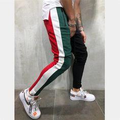 Jogger Pants Style, Mens Jogger Pants, Jogger Sweatpants, Sport Pants, Men Pants, Streetwear Mode, Hip Hop, Cotton Sweatpants, Discount Mens Clothing