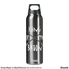 Drum Major or Band Director Thermos Bottle