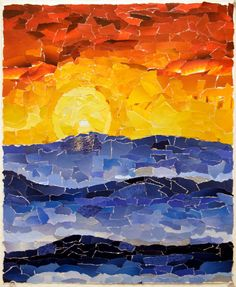 КАК ДЕЛАТЬ КОЛЛАЖИ В ТЕХНИКЕ «ЖУРНАЛЬНОЙ ЖИВОПИСИ» | ПРИВЕТ, РОДИТЕЛЬ! | Яндекс Дзен Collage Kunst, Paper Collage Art, Paper Art, Art Collages, Color Collage, Collage Artists, Arte Elemental, Collage Landscape, Arte Van Gogh