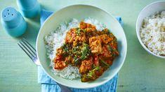 Lamb madras with bombay potatoes recipe - BBC Food Lamb Recipes, Curry Recipes, Indian Food Recipes, Cooking Recipes, Ethnic Recipes, Savoury Recipes, Slow Cooking, Bbc Recipes, Dishes Recipes
