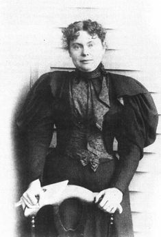 """Lizzie Borden: """"Lizzie Borden took an axe and have her mother forty whacks. When she saw what she had done, she have her father forty one.""""-I can't wait to go to the Lizzie Borden house this April with my best friend :)"""
