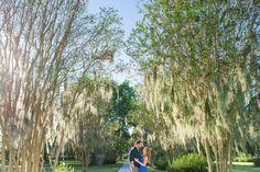 Hampton Park Engagement Portraits