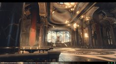 Polycount Forum - View Single Post - THRONE ROOM - The Temple of Utu - MartinH & Minos