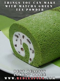 """See what you can make with Matcha Green Tea Powder. We offer largest selection of green tea powders at the lowest price. Please use coupon """"PINTEREST20"""" for 20% discount on our matcha tea products. www.RedLeafTea.com #matcha #greenteapowder #cooking #baking #redleaftea"""