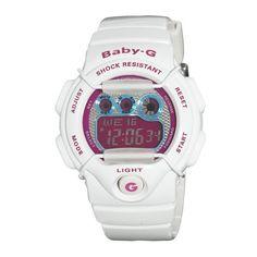 Casio Women's BG1005M-7 Baby-G Multi-Function Digital White Watch Casio http://www.amazon.com/gp/product/B004KQ4QNC/ref=as_li_qf_sp_asin_il_tl?ie=UTF8&camp=1789&creative=9325&creativeASIN=B004KQ4QNC&linkCode=as2&tag=babyg-pin-20&linkId=RSVX5T2ULMZGEI5K