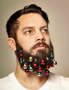 Your Beard Won't Be Fully Festive This Season If It Doesn't Have Beard Baubles | Co.Create | creativity + culture + commerce
