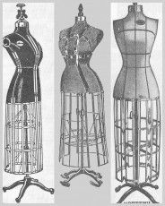 Dress Form Collage
