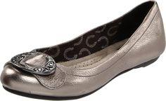 Dr. Scholl's Women's Schroll Flat,Pewter,8.5 M US. $49.95. http://www.amazon.com/gp/product/B00518H7J8