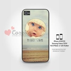 iPhone 44S55S Samsung Galaxy S3/S4 personalized custom by Cozzita, $6.99