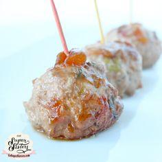 Pineapple Teriyaki Turkey Meatballs