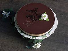 Tarta sin horno mousse de Baileys y chocolate -  Bailey's coffee chocolate mousse cake