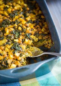 Kale-Powered Hash Brown Casserole
