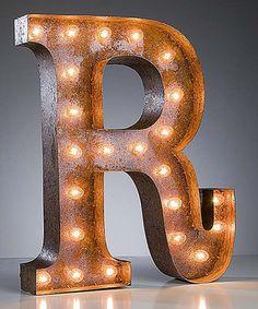 Look at this #zulilyfind! 24'' R Vintage Marquee Light by Vintage Marquee Lights #zulilyfinds