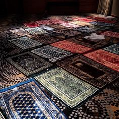 Prayer rugs ❤