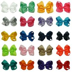 Find amazing CN Boutique Grosgrain Ribbon Girls Solid Hair Bows for Baby Girls Pack of 20 gator gifts for your gator lover. Great for any occasion! Kids Headquarters, Hair Pack, Baby Boy Newborn, Baby Girls, Cotton Sleepwear, Baby Hair Bows, Boys Pajamas, Little Boys, Big Boys