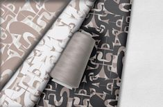 The UTurn from fabric Collection- Neutral and Soft . Textile Prints, Textile Design, Fabric Design, Sustainable Design, Sustainable Fashion, African Textiles, Surface Pattern Design, Neutral, Fabrics