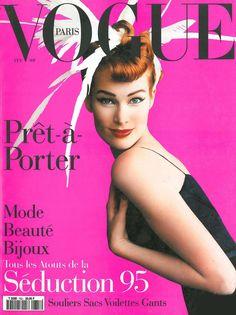 Meghan Douglas by Mario Testino for Vogue Paris February 1995