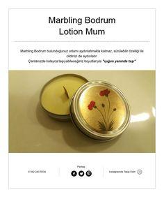 Marbling Bodrum  Lotion Mum