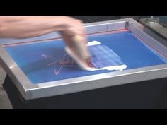 How To Screen Print: Metallic Transfer Foil On Black T Shirts