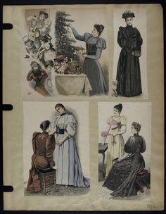 Mode. [XIXe siècle]. 1892