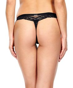 Seductive comfort black lace thong Sale - Calvin Klein