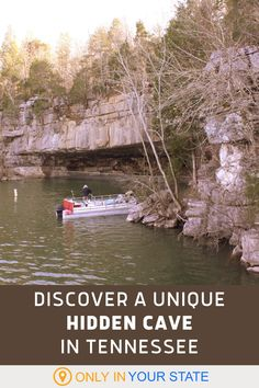 You can't hike to this hidden cave in Tennessee - you'll need a boat. Canoe or kayak to this gem and enjoy local history and a bat hibernaculum. This is a great day trip for nature lovers. Motorcycle Rides, Alone Photography, Canoe And Kayak, Local History, Naturally Beautiful, Outdoor Fun, Day Trip, Road Trips, State Parks
