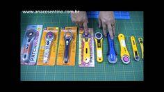 Dica Ana Cosentino: Diferença básica entre cortadores de PATCHWORK