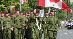 A military unit from Canada marches during a military parade marking Polish Armed Forces Day, in Warsaw, Poland, Friday, Aug. Canadian Soldiers, Canadian Army, Military Units, Military Uniforms, The 11th Hour, Keep The Peace, Moment Of Silence, Future Jobs, Beautiful Fantasy Art