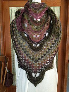 Virus shawl Free pattern