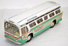 Large Japanese Tin Bus