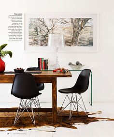 I would like to eliminate my living room set up, and turn it into a work space, kind of like this