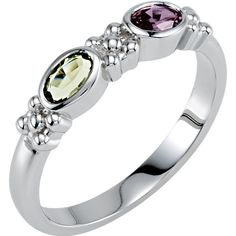 14kt White 1 Stone Ring Mounting for Mother | Stuller