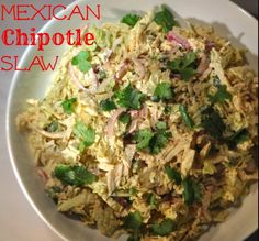 Mexican Chipotle Slaw