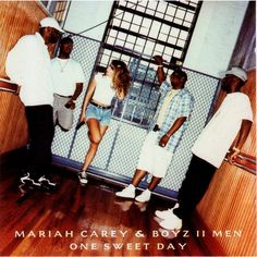 """""""One Sweet Day"""" is a song by American singer-songwriter Mariah Carey and R&B group Boyz II Men. The song was written by Carey, Walter Afanasieff and the members of Boyz II Men: Wanya Morris, Shawn Stockman, Nathan Morris, and Michael McCary. """"One Sweet Day"""" was produced by Carey and Afanasieff for her fifth studio album, Daydream, and was released as the album's second single on November 14, 1995."""