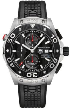 NEW TAG HEUER AQUARACER CALIBRE 16 500M AUTOMATIC LIMITED EDITION TEAM USA 34th AMERICA'S CUP MENS WATCH CAJ2112.FT6036: Watches: Amazon.com...