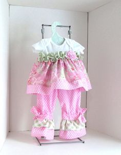 Baby girl clothing sz 9mobaby outfitinfant by saraannas on Etsy, $39.00