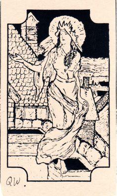 Queen  of Wands mystical