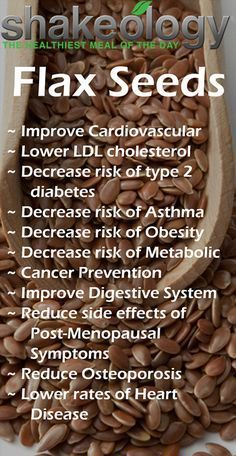Health Benefits of Shakeology | Flax Seeds
