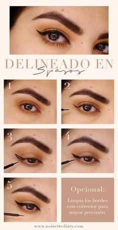 CÓMO HACERTE EL DELINEADO EN 5 PASOS | NoiretteDiary #makeup #tutorial #liner #delineado #wingedliner #makeuptutorial #pictorial