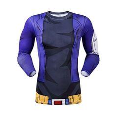 DBZ Trunks Long-Sleeve Compression Shirt