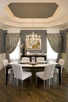 My dream dining room, except for a couple things...