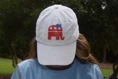 Future First Lady's GOP hat is adorable and I wear it everywhere! Preppy Girl, Preppy Style, My Style, Republican Gop, Usa Baby, United We Stand, Down South, Preppy Outfits, Make A Wish