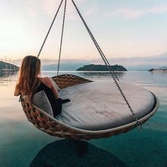 It's hard not to envy this traveller, enjoying the morning bliss over the crystal clear waters of Marmaris. This shot by Christoffer Collin excites our wanderlust. Wanderlust, Adventure Awaits, Adventure Travel, Destinations, Adventure Is Out There, Travel Goals, Oh The Places You'll Go, Travel Inspiration, Motivation Inspiration