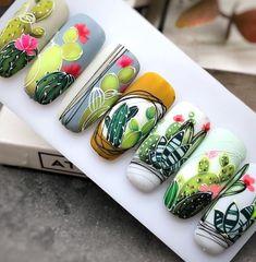 Lace Nail Art, Lace Nails, Flower Nails, Succulent Nails, Gothic Nails, Moon Nails, Cute Nail Art Designs, Pretty Nail Art, Get Nails