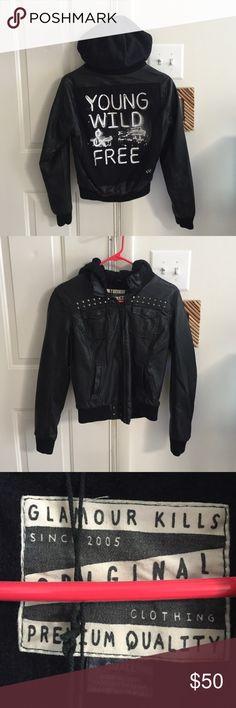 Selling this Glamour Kills Bomber Jacket on Poshmark! My username is: zombii. #shopmycloset #poshmark #fashion #shopping #style #forsale #Glamour Kills #Jackets & Blazers