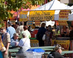 Food Vendors at the Ethnic Fest
